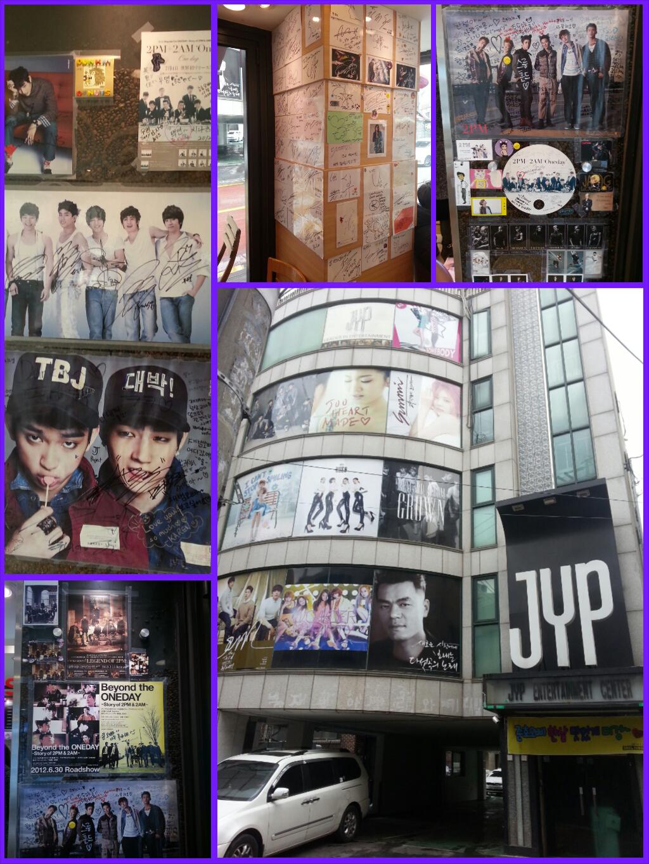 sm ent jyp cube fnc directions kpop tour guide